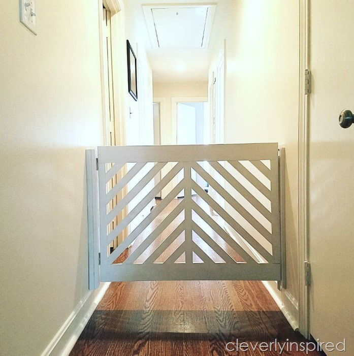 dog gate @cleverlyinspired