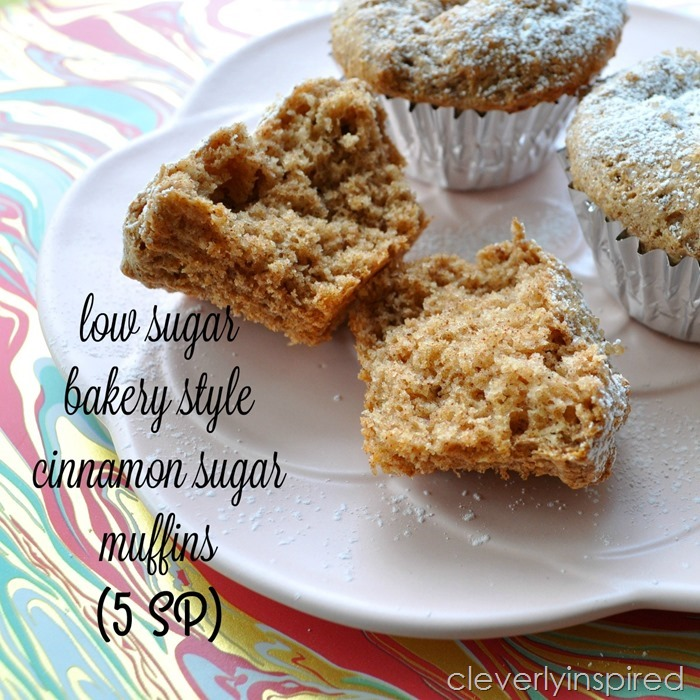 low sugar cinnamon muffin @cleverlyinspired (8)