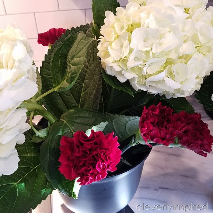 DIY flower arrangement @cleverlyinspired (4)