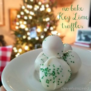 No bake Key Lime Truffles (no bake Cookie)