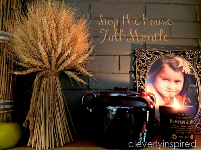 shop the house fall mantle cleverlyinspired (8)